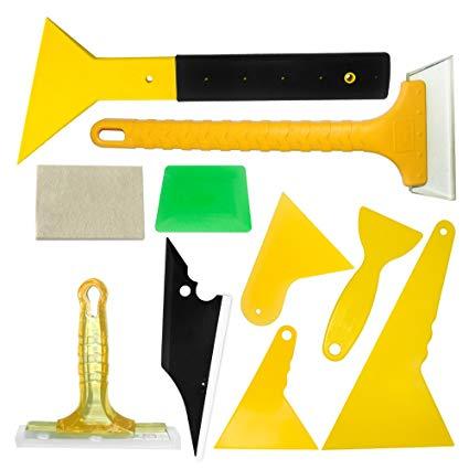 VINYL FROG Professional Vehicle Vinyl Car Window Tint Tool Kit Vinyl Wrap  Installation Tools 1 Set.
