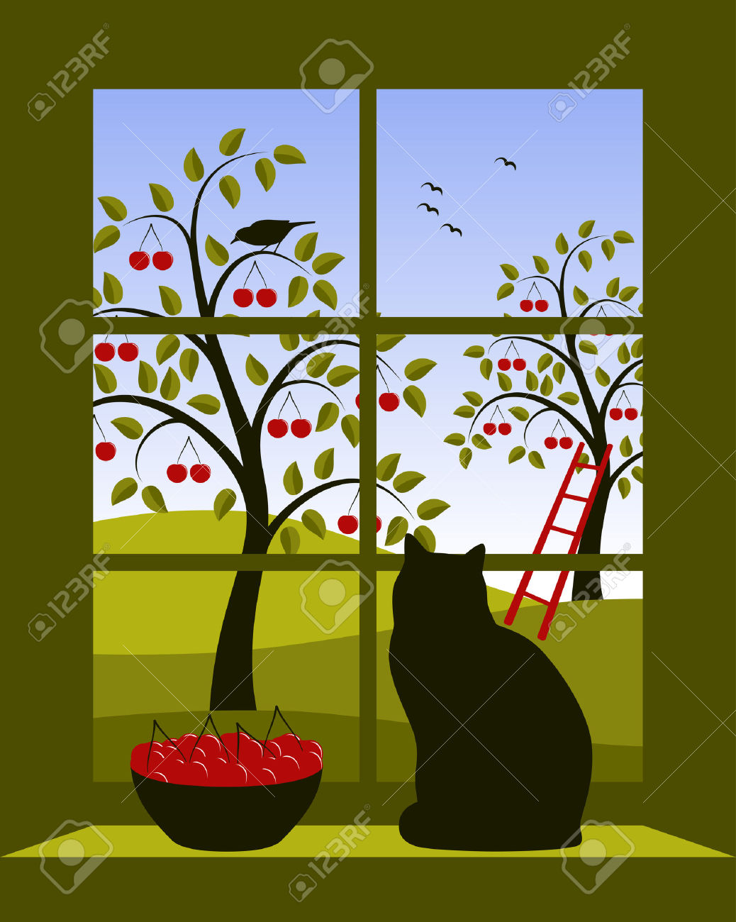 Window to outside clipart - Clipground for Outside Window Clipart  193tgx
