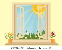 Window view Clip Art Vector Graphics. 6,498 window view EPS.