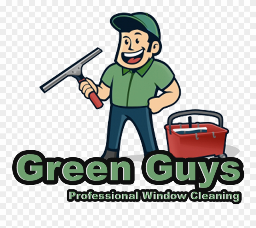 Green Guys Cleaning.