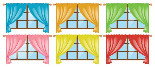 679 Curtains free clipart.