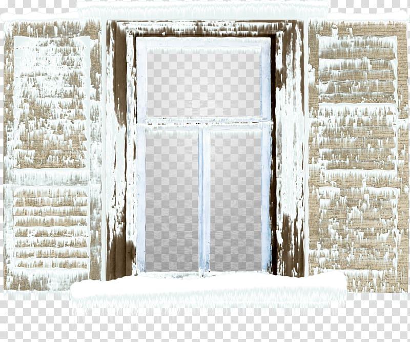 Window Centerblog, Snow door transparent background PNG.