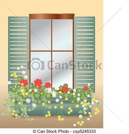 Window box Clipart and Stock Illustrations. 3,407 Window box.
