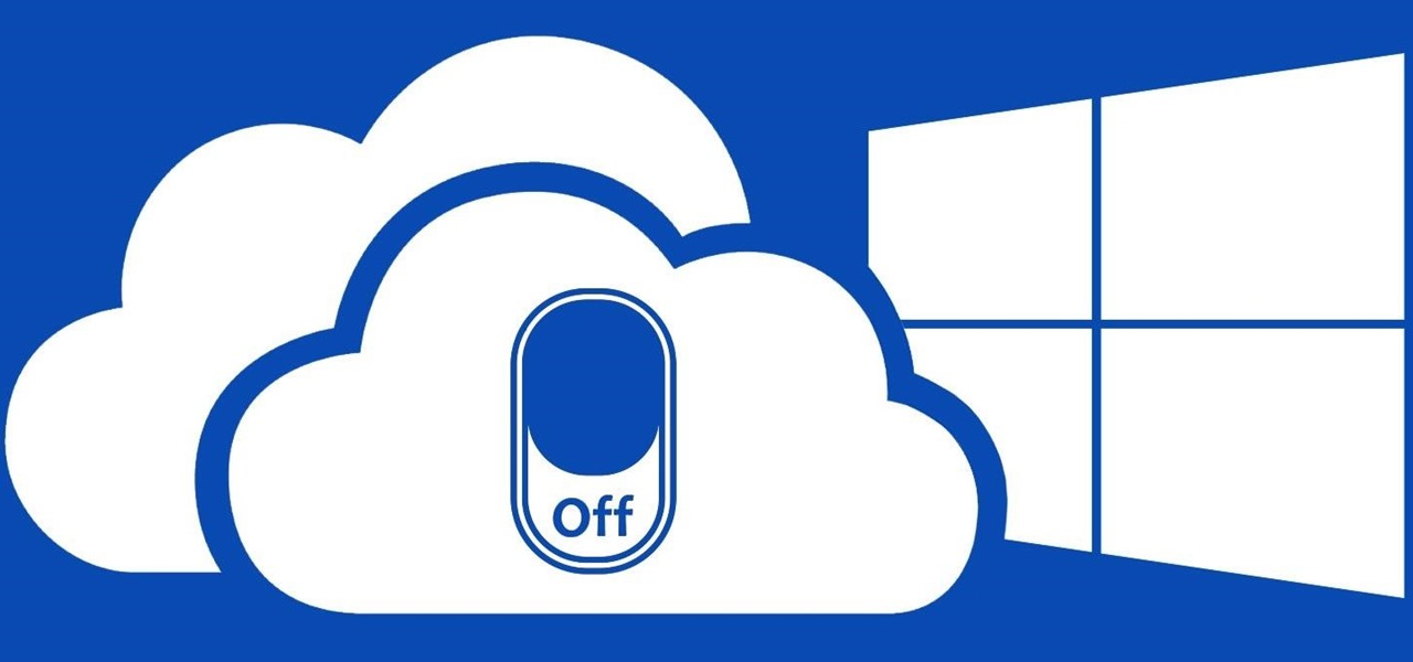 Don't Use OneDrive? This Is How You Disable It in Windows 10.