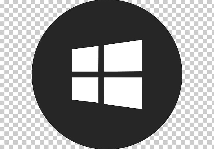 Computer Icons Windows 10 PNG, Clipart, Angle, Black And.