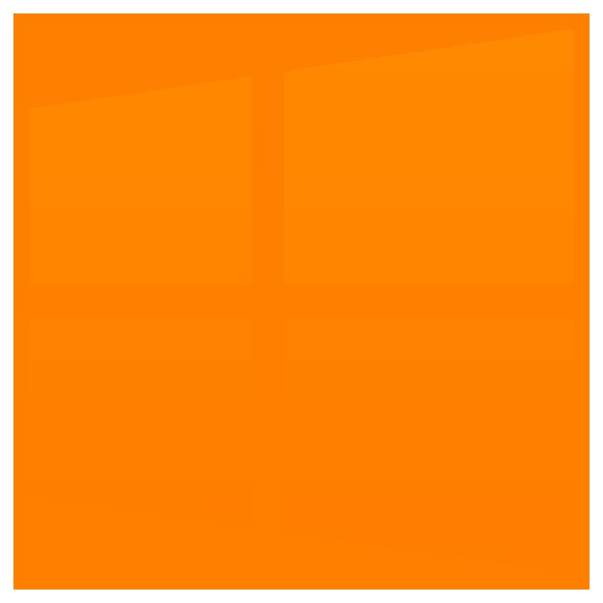 Microsoft, windows, windows 10 icon.