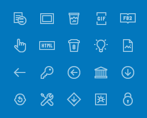 200 Windows 10 Icons.