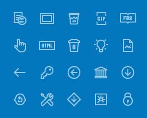 200 Windows 10 Icons.