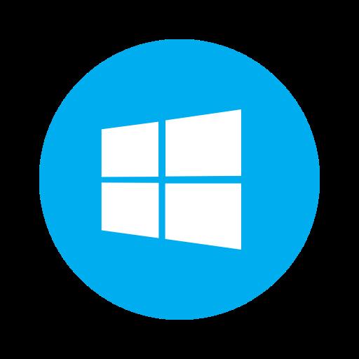 Metro, microsoft, os, pc, system, windows, windows10 icon.