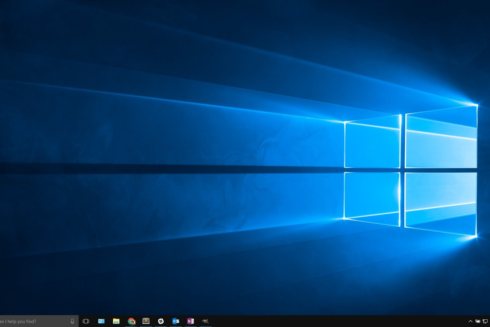 How to show the taskbar on only one display in Windows 10.