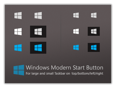 Windows Modern Start Button by dassebi on DeviantArt.