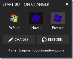 How To Change Start Button In Windows 8.1.