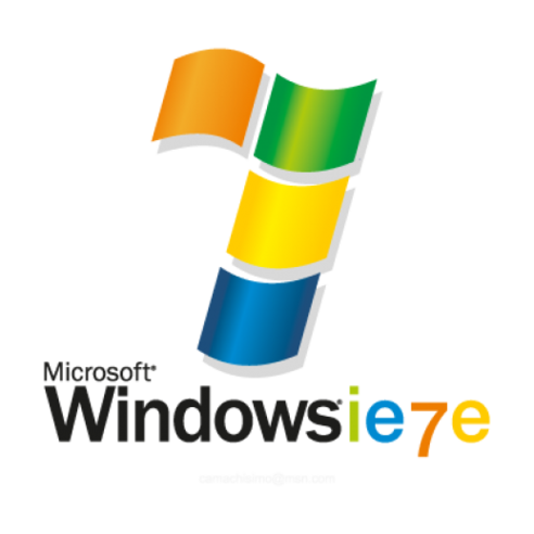 Windows 7 clipart size.