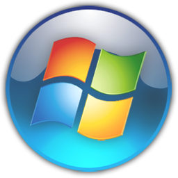 Windows 7 start menu clipart.