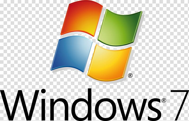 Microsoft Windows 7 logo, Windows 7 Operating Systems.