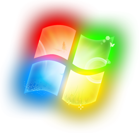 PC Clip Art Wallpaper Windows 7.