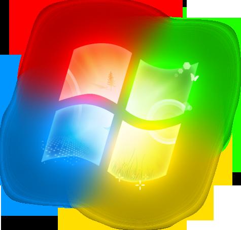 PC Clip Art Wallpaper Windows 7.