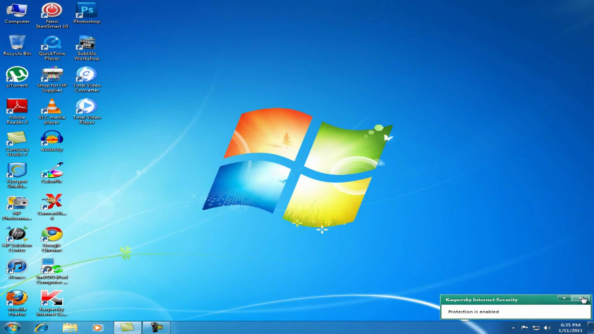 Windows 7 Desktop Clipart Size Clipground