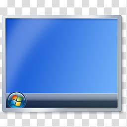 Big Windows icons pack, transparent background PNG clipart.