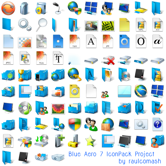 121 Device, Drive, Folder & Filetype PNG/ICO Icon Packs.