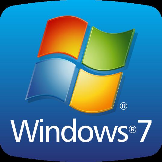 Microsoft windows 7 icon png #32124.