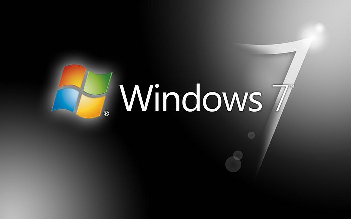 Windows 7 Logo Abstract Wallpaper 6.