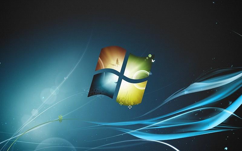 Windows 7 logo design 1920x1080 wallpaper free desktop.
