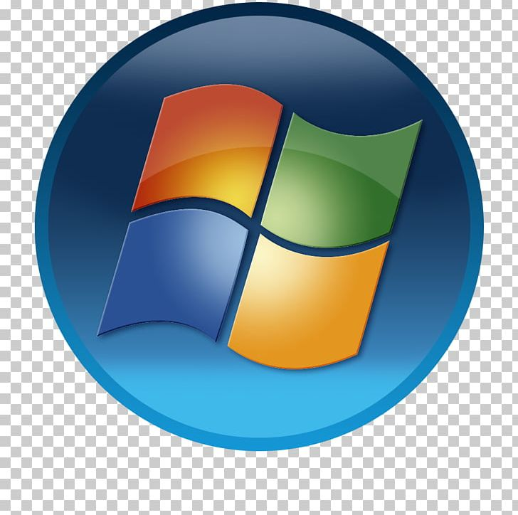 Windows 7 Logo Windows Vista PNG, Clipart, Circle, Computer Icon.