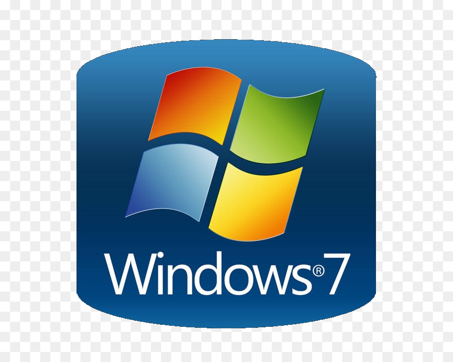 Windows 7 Yellow png download.