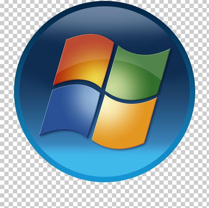 Windows 7 Logo Windows Vista PNG, Clipart, Circle, Computer Icon.