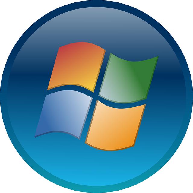 Windows 7 Start Button Small Clipart.