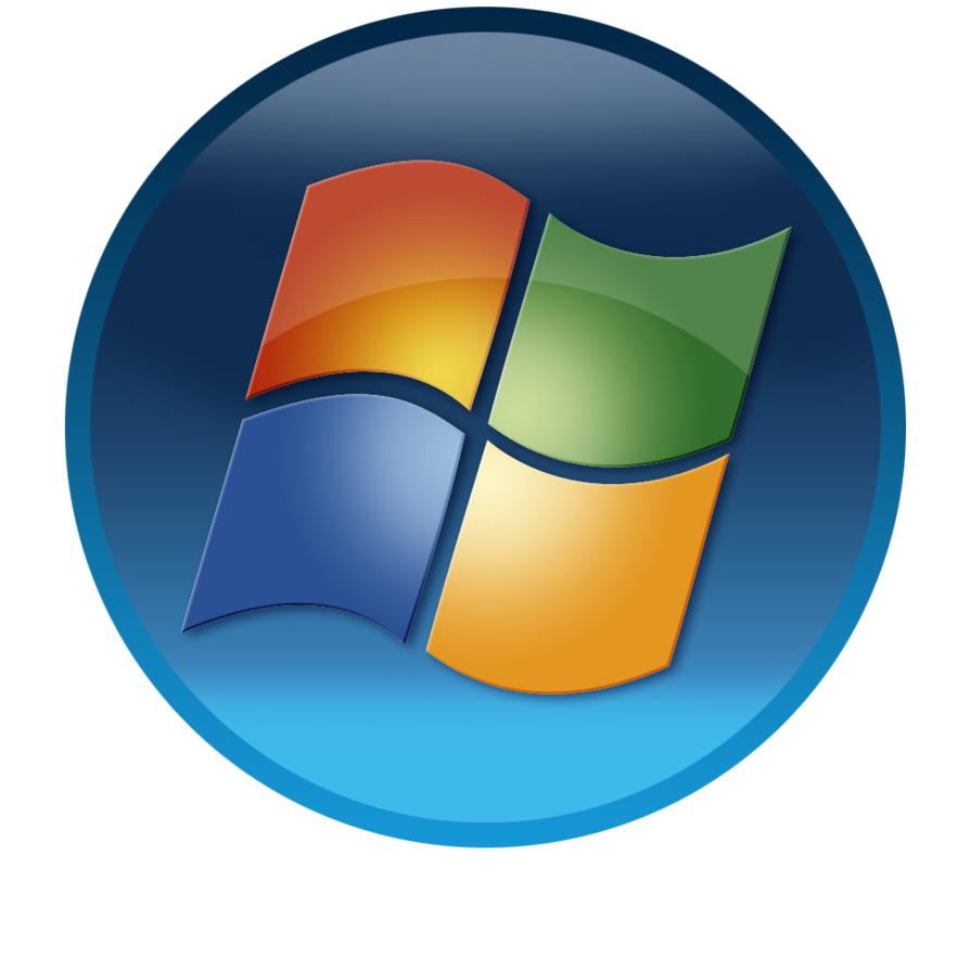 Windows 7 start button png, Windows 7 start button png.
