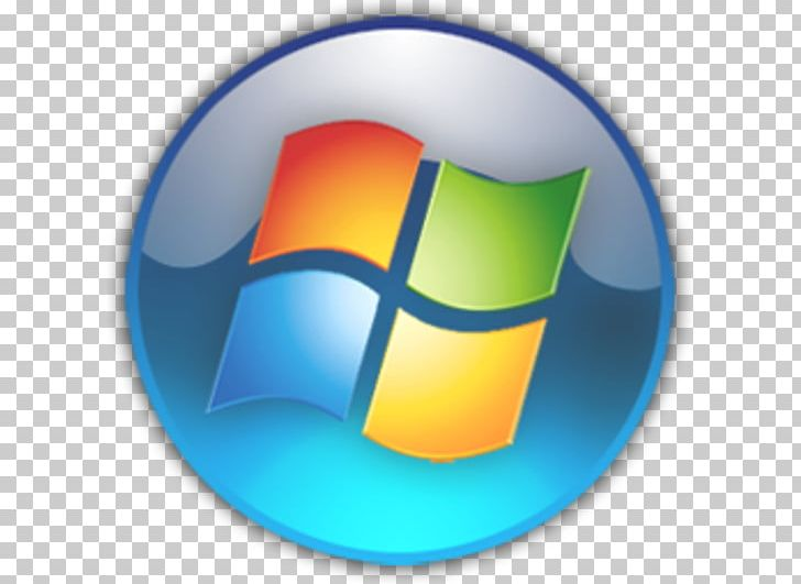 Start Menu Windows 7 Button Microsoft PNG, Clipart, Button, Circle.