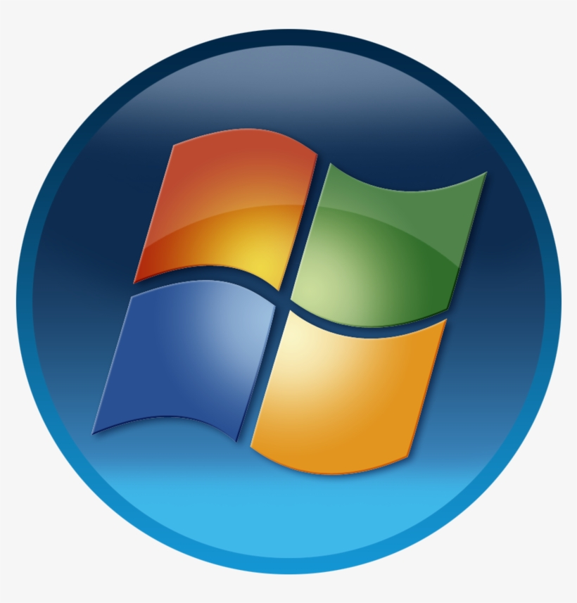 Windows 7 Start Button Png Png Freeuse.