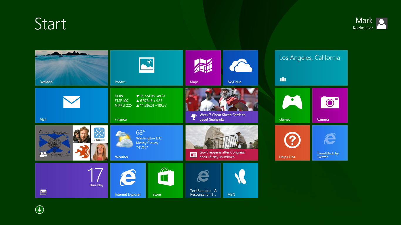 A look at some Microsoft Windows 8.1 highlights.
