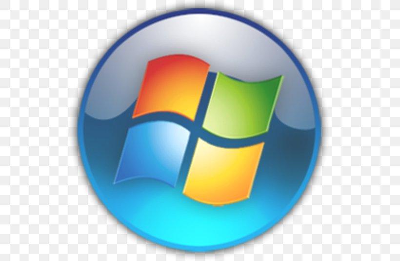 Start Menu Windows 7 Button Microsoft, PNG, 535x535px, Start.