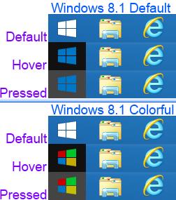 Windows 8.1 start orb by NHKom on DeviantArt.