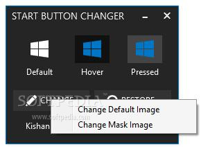 Download Windows 8.1 Start Button Changer 1.0.0.0.