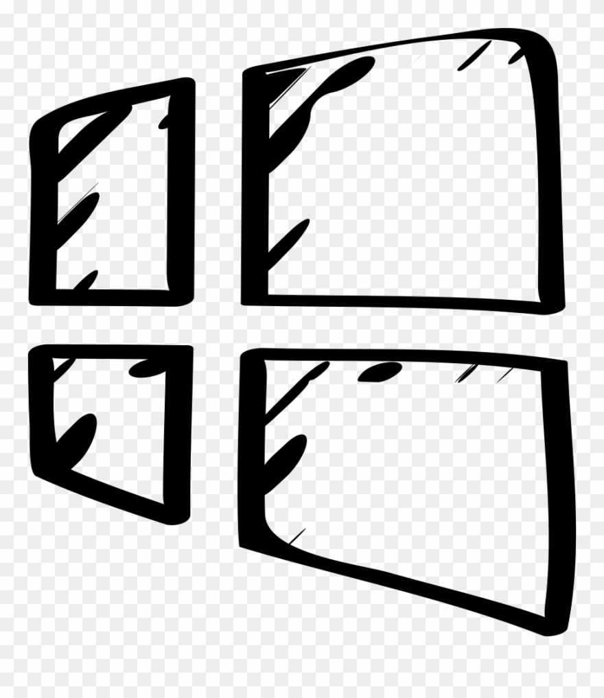 Windows 8 Sketched Logo Comments.