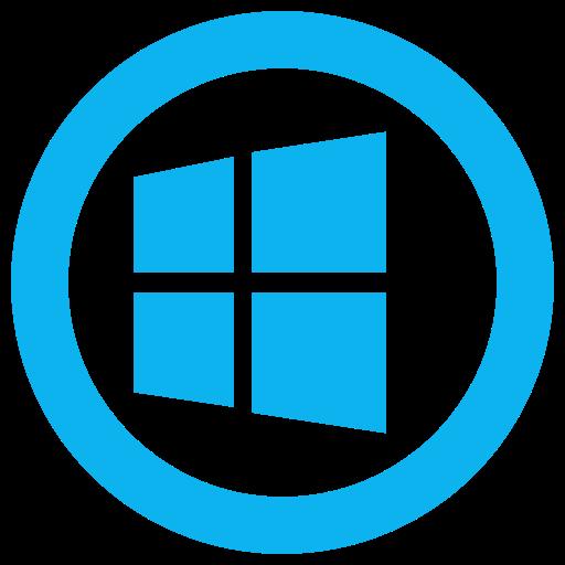 Microsoft, windows, windows8 icon icon.