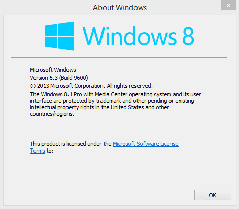 Find out which version of Windows 8 you are running.