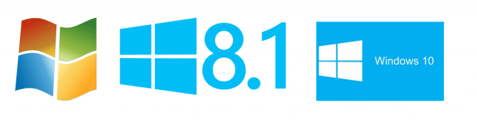 Download Official ISO's of Windows 7, Windows 8.1 or Windows 10.