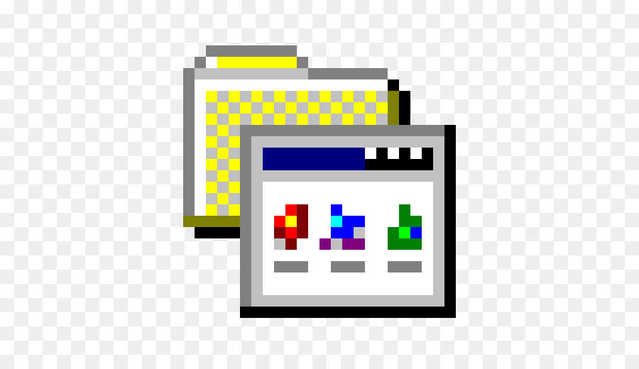 Windows 95 Icon clipart.