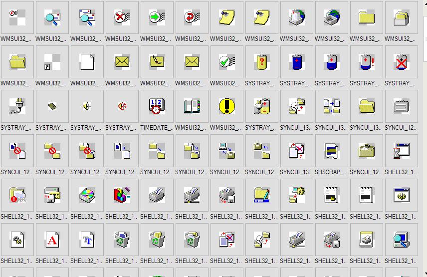 All windows 95 icons by AkelDiantelas on DeviantArt.