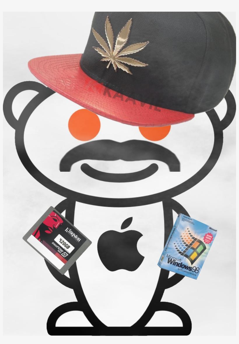 A Custom Reddit Alien For The Subreddit.