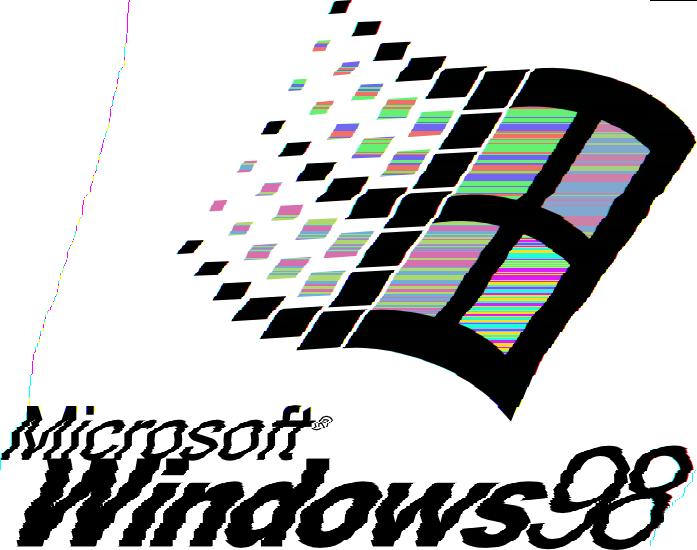 Windows 98 : glitch_art.