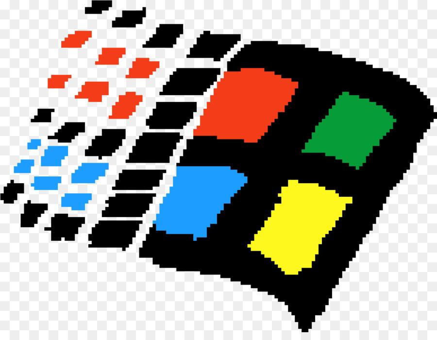 Pixel Art Logo.