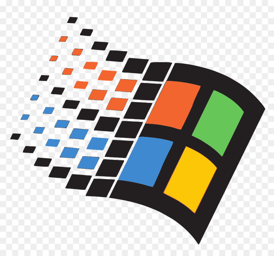 Windows 98 Text png download.