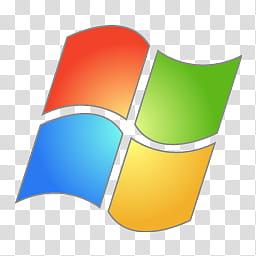 Aero, Microsoft Windows XP logo transparent background PNG.