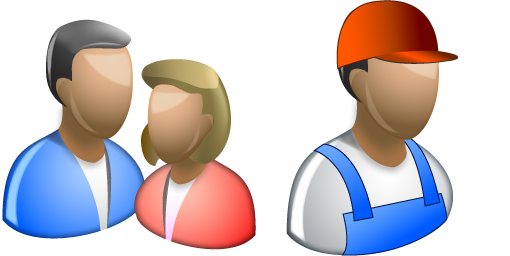 Aero People Icons for Windows 8.